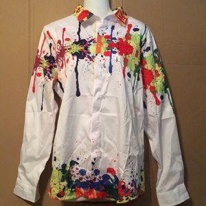 Xuan Ying designer shirt sz XL